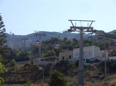 Taking the Cable Car Up to Visit Erice | Photo
