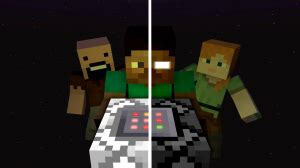 Descargar «Steve and Herobrine» (7 mb) mapa de Minecraft