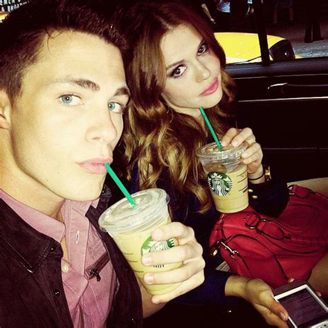 Colton Haynes and Holland Roden | Holland Roland