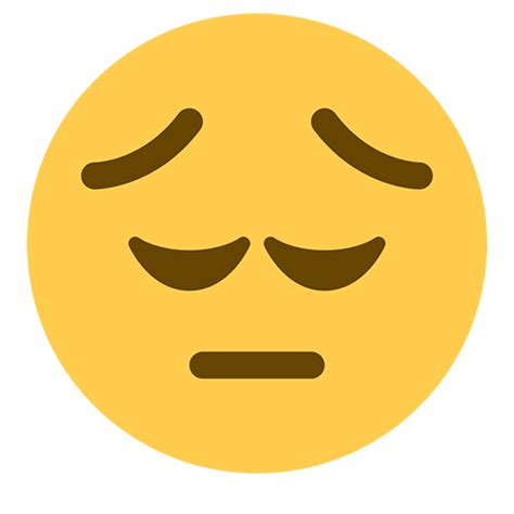 Pensive Face Emoji for Facebook, Email & SMS | ID#: 41
