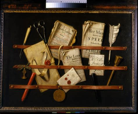 Trompe l'oeil with Writing Materials | Colyer, Edwaert | V