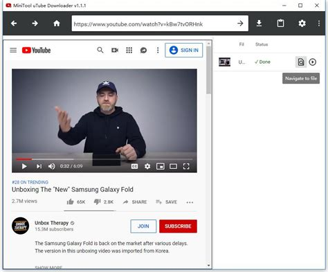 How to Use MiniTool uTube Downloader to Download YouTube Video