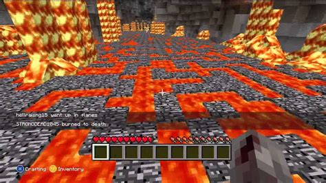 Fun Things to Do in Minecraft Xbox 360 - Lava Hopscotch