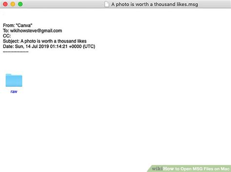 Simple Ways to Open MSG Files on Mac: 15 Steps (with Pictures)