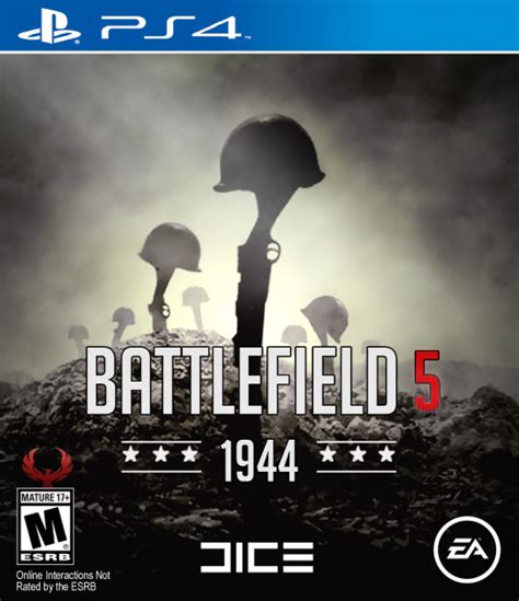 Battlefield 5 1944 PlayStation 4 Box Art Cover by iEnerrgizer