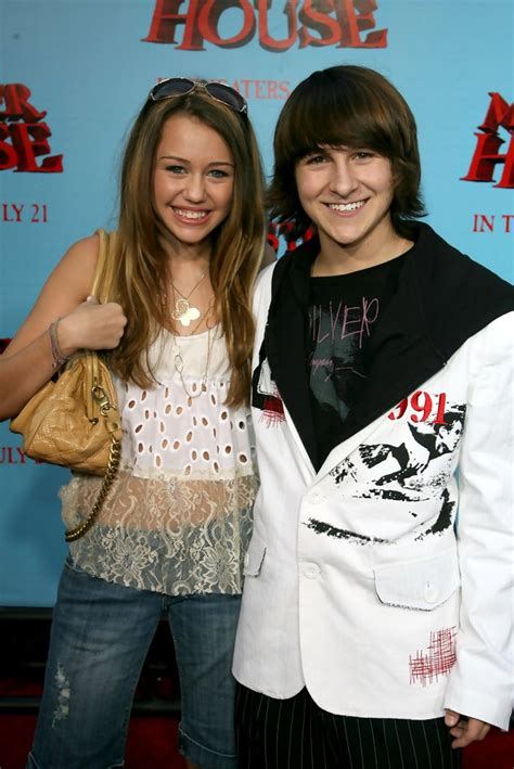 """Miley Cyrus in Sony Pictures Premiere Of """"Monster House"""