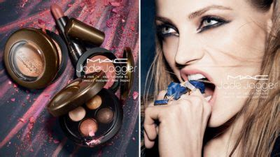 Jade Jagger And MAC Collaborate On New Make-Up Capsule