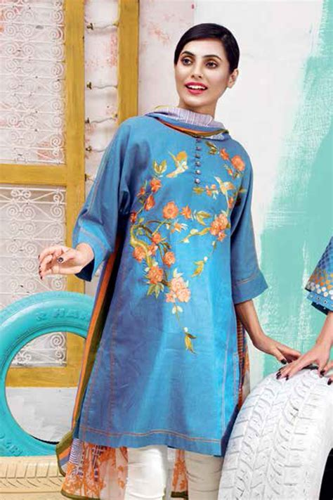 Latest Ladies Summer Shirts Gul Ahmed Yolo Collection 2018
