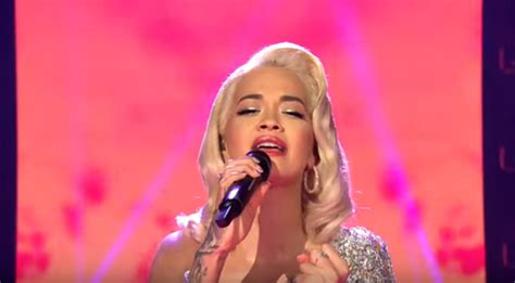 Rita Ora sings 'Let You Love Me' on The Voice of Germany