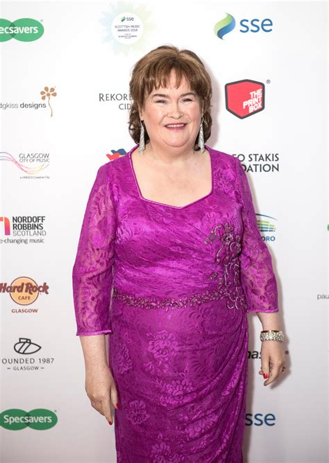 Susan Boyle inducted into Scottish Music Hall of Fame at