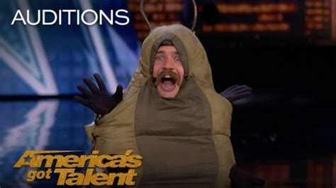 AGT 2018: Comedian Sethward the caterpillar flashes judges