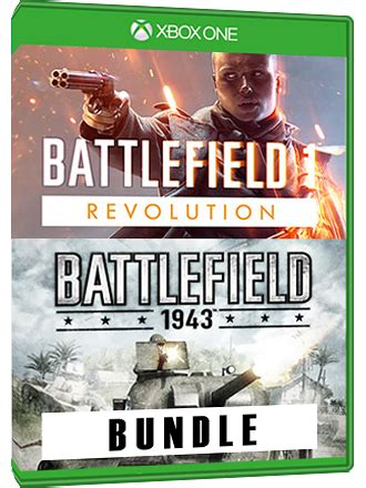 Battlefield 1 Revolution + BF 1943 Bundle Xbox One - MMOGA