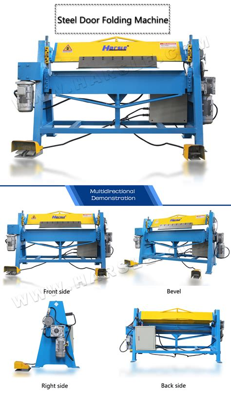 Steel Door Electric Folding Machine from China