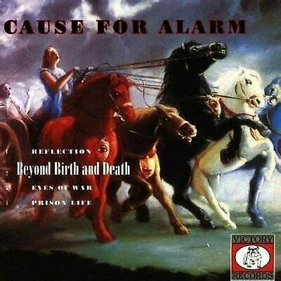 CAUSE FOR ALARM BEYOND BIRTH AN DEATH NEW VINYL RECORD