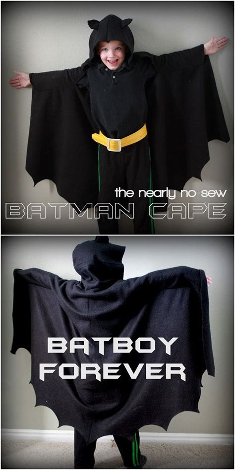 child's batman cape - so easy with very little sewing