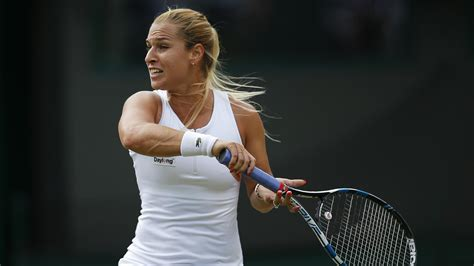 Dominika Cibulkova crashes out of Ricoh Open in first