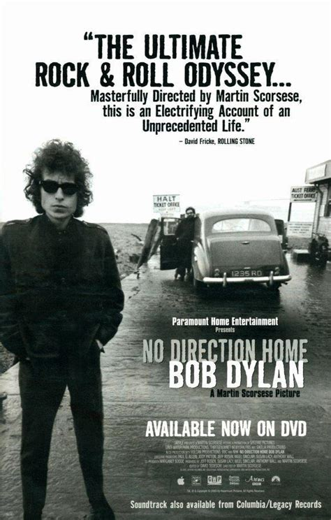 No Direction Home: Bob Dylan - A Martin Scorsese Picture