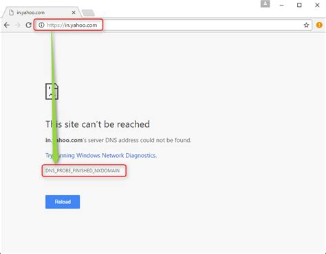 How To Fix DNS_PROBE_FINISHED_NXDOMAIN Error [Solved]