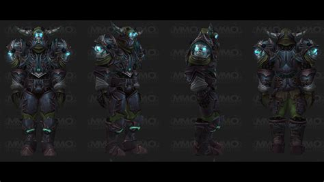 WoW Mists of Pandaria Beta - Level 90 Death Knight Tier 14