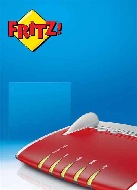 Fritzbox 6490    Opening the FRITZ!Box user interface