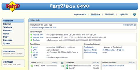 Fritz!Box 6490 Cable im Test: Schnelles WLAN ac
