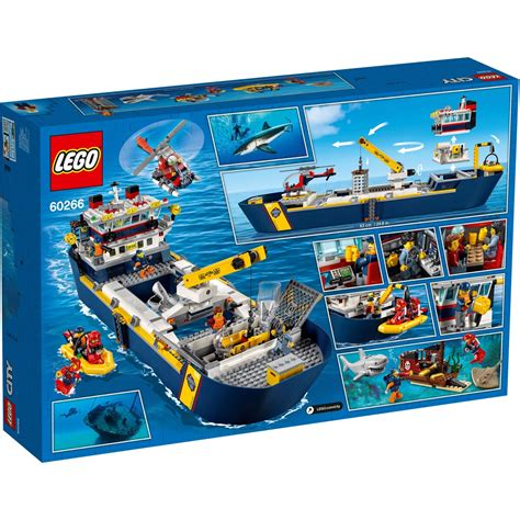 LEGO City Ocean Exploration Ship - 60266 | BIG W