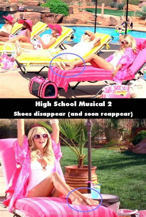 High School Musical 2 (2007) movie mistake picture (ID 126774)