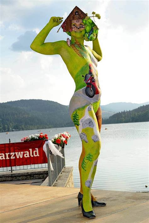 Fotos: Bodypainting-Festival in Titisee - Titisee-Neustadt