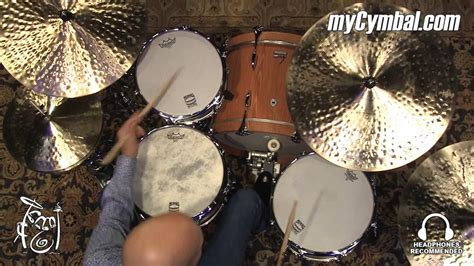 Zildjian K Constantinople Cymbal Set - Played by Steve