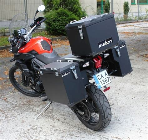 BUMOT Aluminum Luggage Systems for your Tiger 800