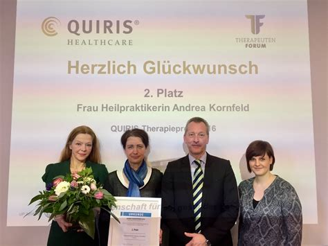 QUIRIS-Therapiepreis - TCM Gütersloh