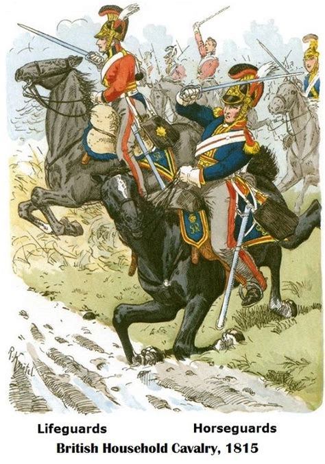 1815 British Household Cavalry