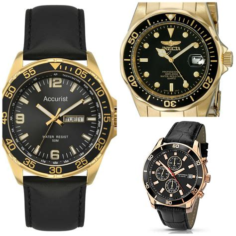 10 Best Black And Gold Watches For Men - The Watch Blog