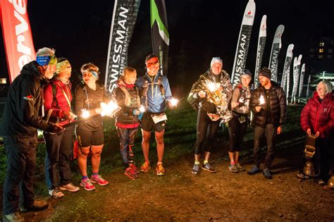 Determined Athletes Face Biting Wind - SWISSMAN Xtreme