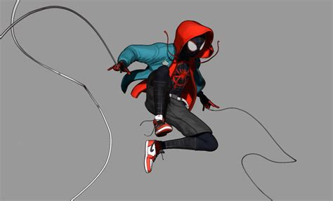 Miles Morales Spider-Man: Into The Spider Verse fan art