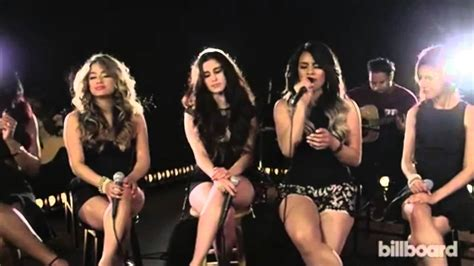 Fifth Harmony - We Know (Acoustic) Billboard Live - YouTube