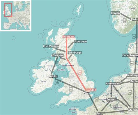 London to Inverness by Caledonian Sleeper - Experience on