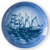 Navy and ship plates by Bing & Grondahl on SALE