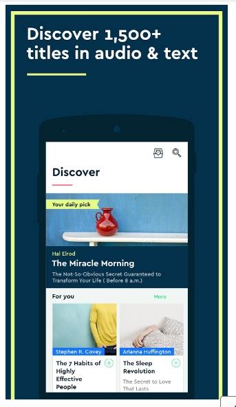 Blinkist APK for Android (Nonfiction Books) - Approm