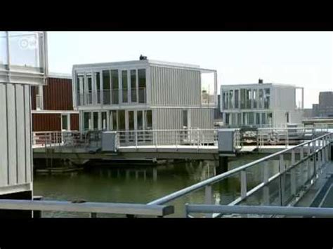 Modern Houseboats in the Netherlands   Euromaxx - YouTube