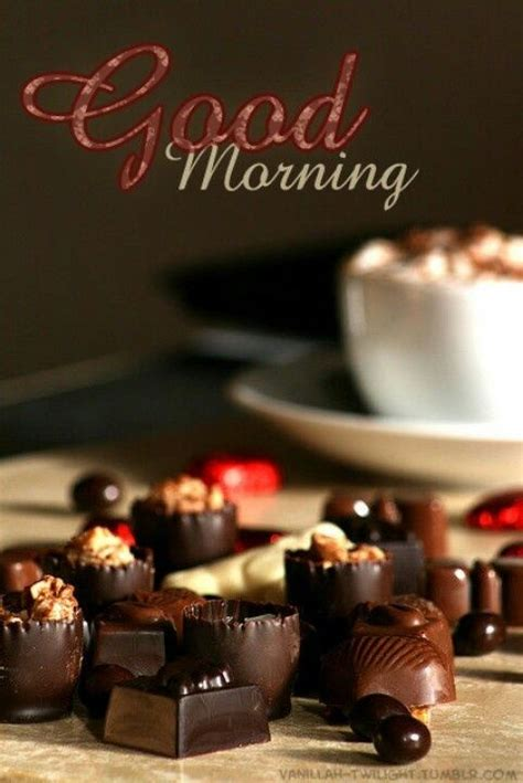 Good Morning Chocolate Pictures, Photos, and Images for
