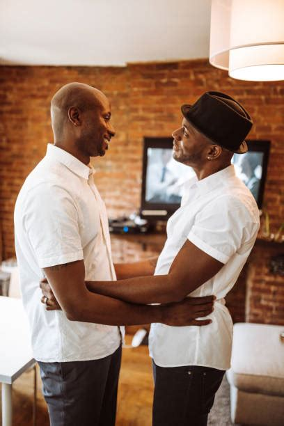 Gay Black Men Kissing Stock Photos, Pictures & Royalty