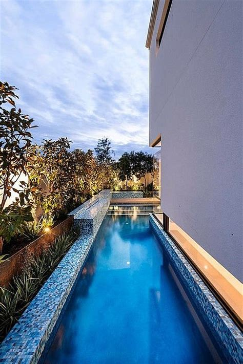 30 Gorgeous Outdoor Narrow Pools You'll Want To Dip In