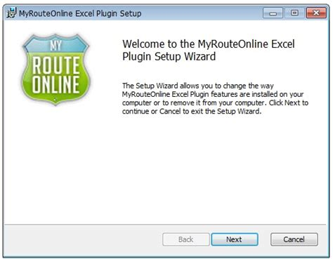 Excel Add-in for planning routes | MyRouteOnline
