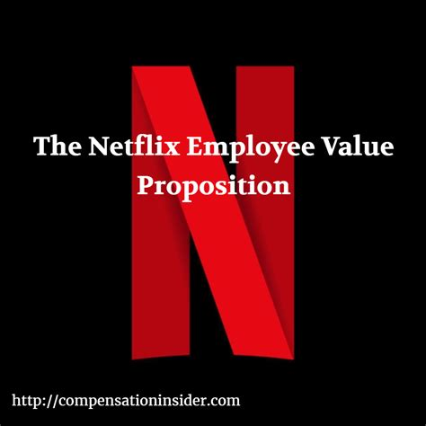 The Netflix Employee Value Proposition