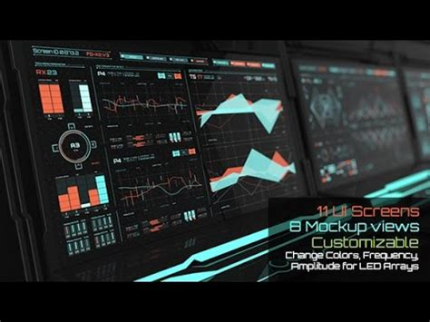 HUD Screentron UI | After Effects template - YouTube