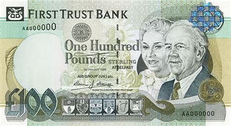 First Trust Bank to axe own banknotes from June 2020