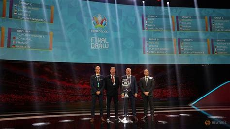 Portugal, France, Germany drawn together at Euro 2020 as