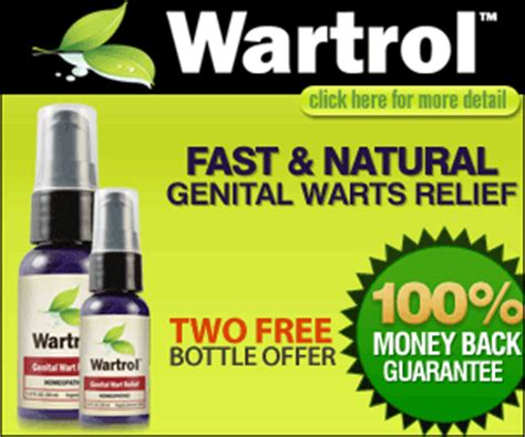 Wartrol: The FDA Approved Genital Warts Remover Spray Now