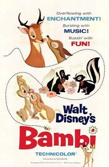 Cartoon Pictures for Bambi (1942) | BCDB
